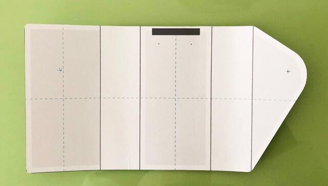 キーケース型紙