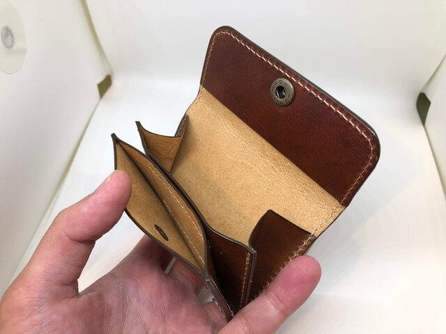 小さい財布中身