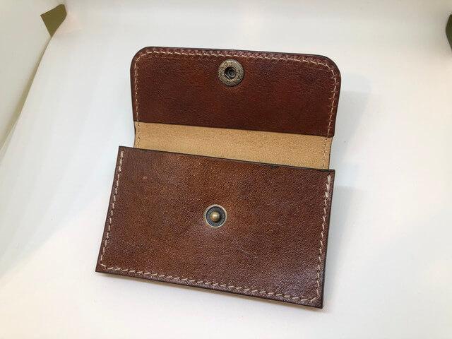 小さい財布開いた